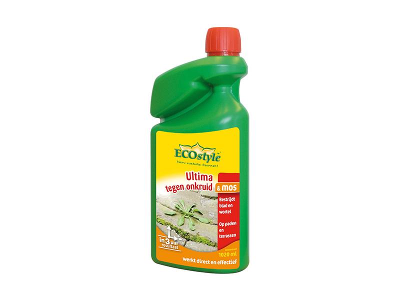 Eco. Ultima tegen onkruid en mos gebr. Kl 4000 ml