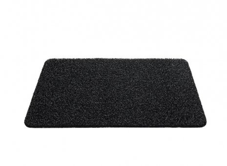 Curly mat Black