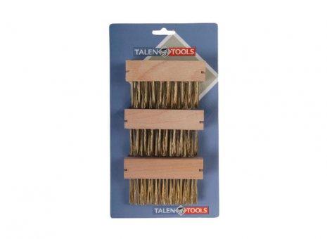 Talen tools 3x losse onkruidborstels