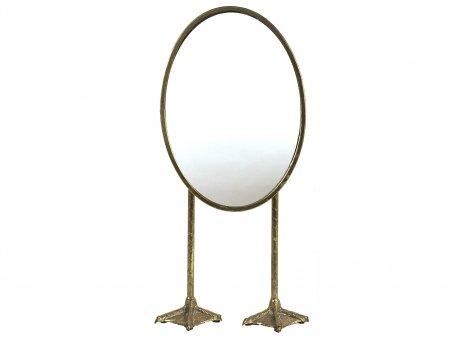 Spiegel Katrien L goud