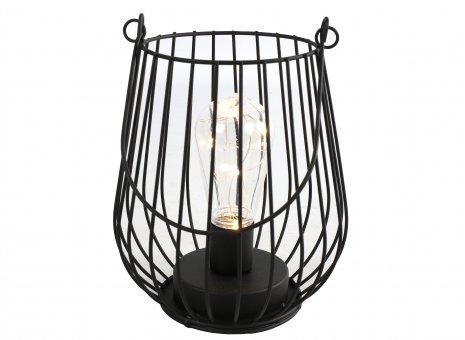 Tafellamp LED timer Alian zwart