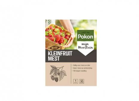 Pok voeding Kleinfruit Bio 1kg