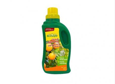 Eco. Citrus & olijfvoeding 500ml.