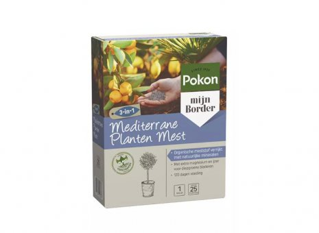 Pok. mediterrane planten mest 1kg