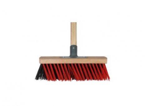 Talen tools bezem buiten rood zwart