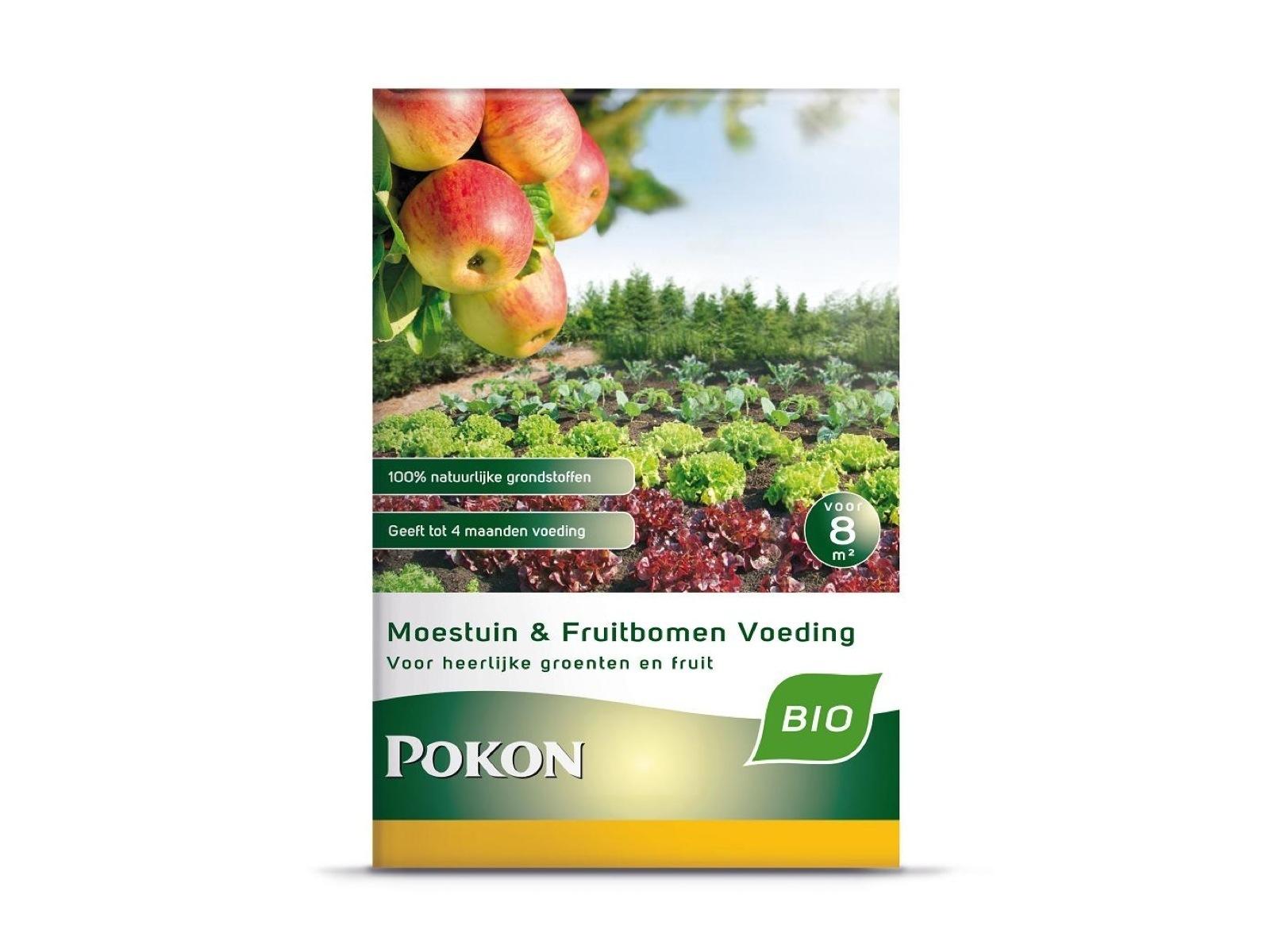 Pok Moestuin & Fruitbomen voeding 800g Bio