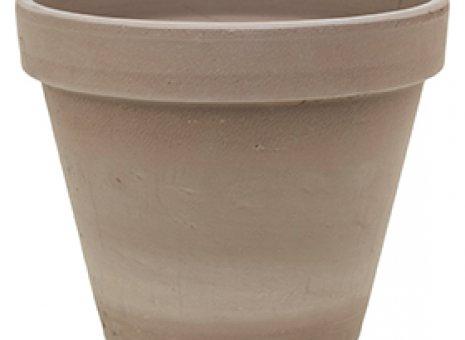 Terra cotta pot ( mocca )