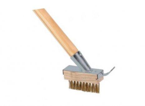 Talen tools onkruidborstel met houder en steel